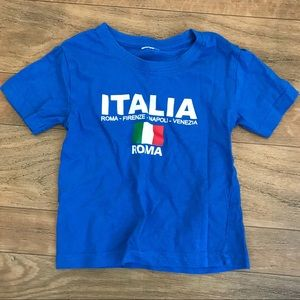 5 for $10 t shirt baby ITALY (NWOT)